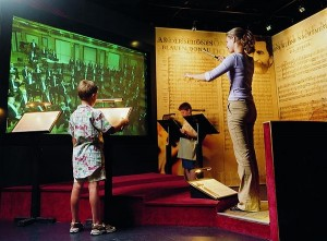 The Virtual Conductor at the Vienna's House of Music