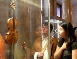 Rare Stradivari violin in the Collection of Ancient Musical Instruments