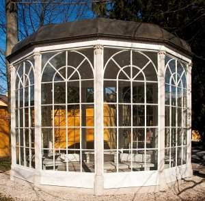 Gazebo from Sound of Music in Salzburg