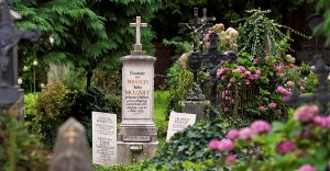 Mozart's parents' gravesite