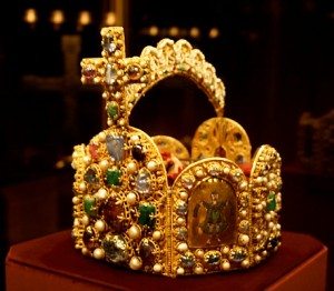Priceless crown from Imperial Treasury in Vienna