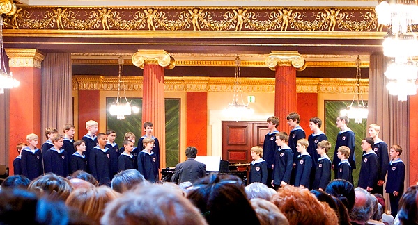 Vienna Boys Choir concert in Vienna in 2002