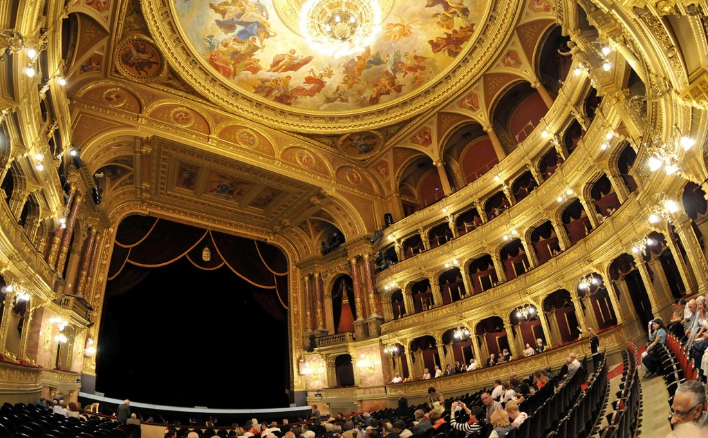 Auditorium of the Budapest Opera House