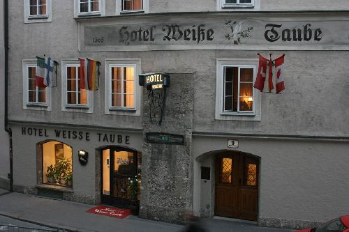 Salzburg's Hotel Weisse Taube (The White Dove)
