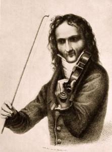 Portrait of Niccolò Paganini