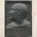 Anton Bruckner historical plaque