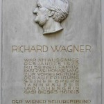 Plaque for Richard Wagner at Vienna's Hotel Imperial