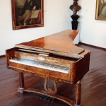 Beethoven piano in Pasqualati House Museum