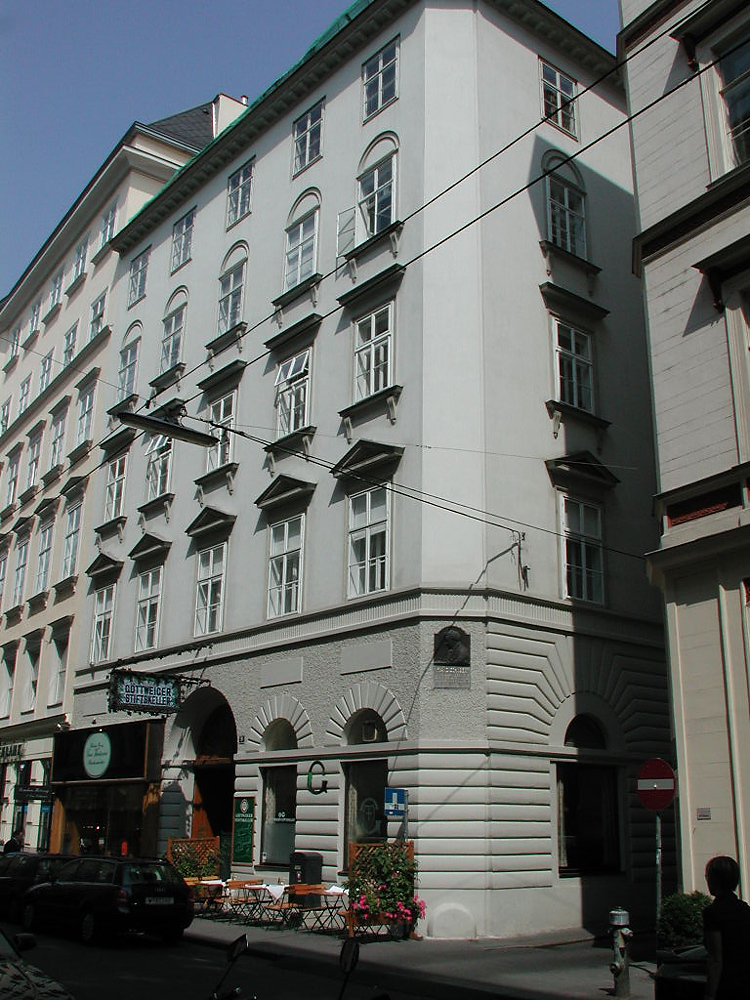 Apartment Where Schubert Wrote The Unfinished Symphony