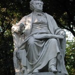 Schubert Statue in Vienna's Stadtpark