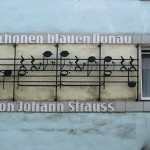 Johann Strauss Blue Danube Plaque