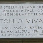 Site of Vivaldi's Cemetery
