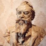Johannes Brahms bust