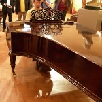 Johannes Brahms historical piano