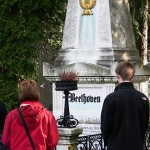 Beethoven's Grave at Central Cemetery