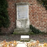 First grave of Franz Josef Haydn