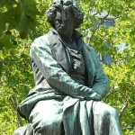 Beethovenplatz - famous Beethoven statue