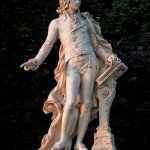 Mozart Statue in Vienna's Burggarten