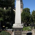 Bedřich Smetana's Grave