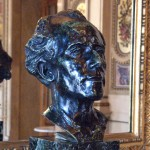 Bust of Mahler at the Vienna State Opera House
