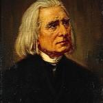 portrait of Franz Liszt