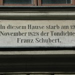 Schubert Apartment Museum Plaque