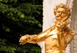 Johann Strauss, Blue Danube, Vienna