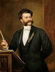 Johann Strauss, waltz king, blue danube, vienna