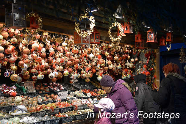 Vienna's Christmas Market - In Mozart's Footsteps - Uncommon ...