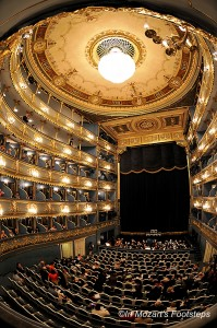"The Estates Theater in Prague is where Mozart's ""Don Giovanni"" was first performed, and where the opera scenes in ""Amadeus"" was filmed. We'll see it."