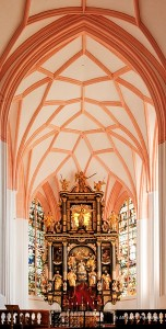 "We will visit Mondsee Cathedral near Salzburg. This is where the wedding scene in ""The Sound of Music"" was filmed."