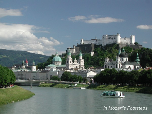 Salzburg is one of the Europe's most picturesque cities.