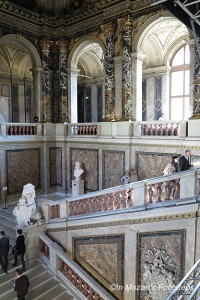 The Grand Staircase of Vienna's Art History Museum.
