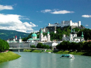 Salzburg is one of Europe's most picturesque cities.